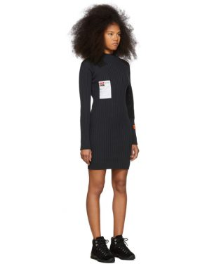 photo Black Rib Dress by Heron Preston - Image 2
