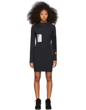 photo Black Rib Dress by Heron Preston - Image 1