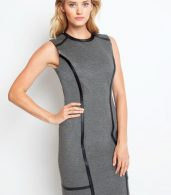 photo Bowery Dress - Charcoal, color Charcoal - Image 2