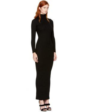 photo Black Knit Turtleneck Dress by Balmain - Image 2