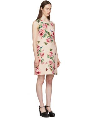photo Pink Rose Dress by Dolce and Gabbana - Image 2