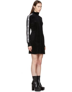 photo Black Limited Edition Velour Track Dress by Opening Ceremony - Image 2