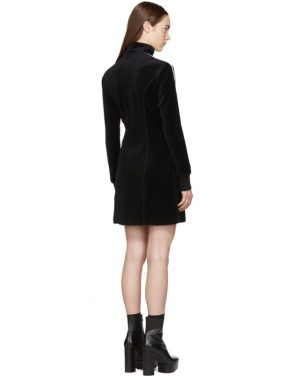 photo Black Limited Edition Velour Track Dress by Opening Ceremony - Image 3