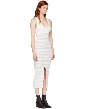 photo White Striped Maxi Dress by Opening Ceremony - Image 2