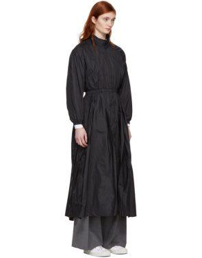 photo Black Maxi Anorak Dress Coat by Opening Ceremony - Image 2