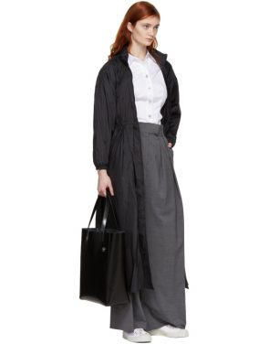 photo Black Maxi Anorak Dress Coat by Opening Ceremony - Image 5