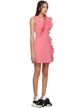 photo Pink Ruffles Dress by MSGM - Image 2