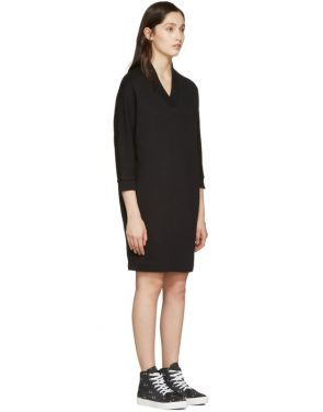 photo Black Logo Pullover Dress by Kenzo - Image 2
