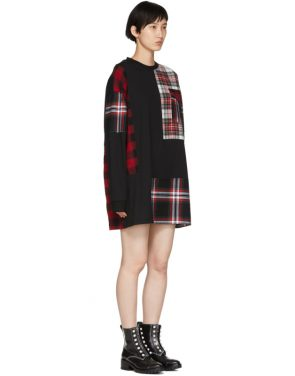 photo Black Patched Tunic Dress by McQ Alexander McQueen - Image 2