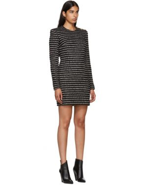 photo Black and White Striped Dress by Balmain - Image 2