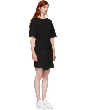 photo Black Hook and Eye T-Shirt Dress by Opening Ceremony - Image 2