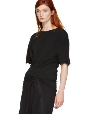 photo Black Hook and Eye T-Shirt Dress by Opening Ceremony - Image 5