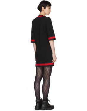 photo Black Short Webbing Dress by Gucci - Image 3