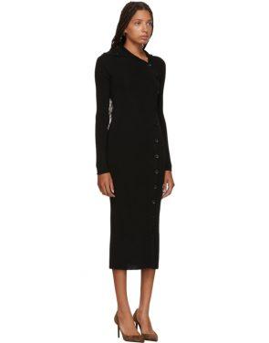 photo Black Merino Alaria Dress by Toteme - Image 2