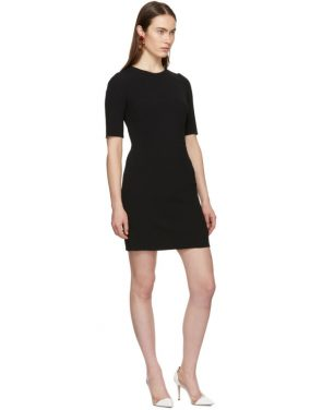 photo Black Fitted Dress by Dolce and Gabbana - Image 5