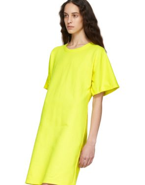 photo Yellow T-Shirt Dress by A-Plan-Application - Image 4