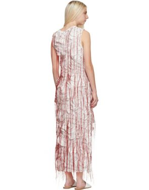photo White Sheath Dress by Marina Moscone - Image 3