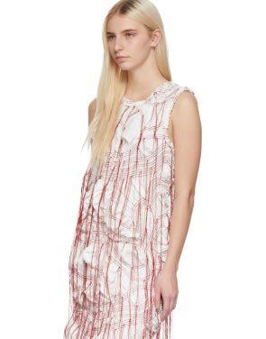 photo White Sheath Dress by Marina Moscone - Image 4
