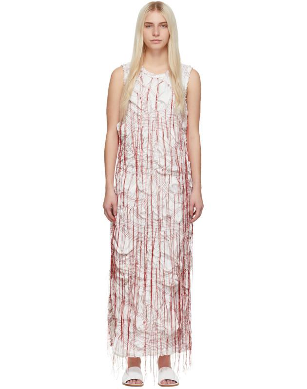 photo White Sheath Dress by Marina Moscone - Image 1