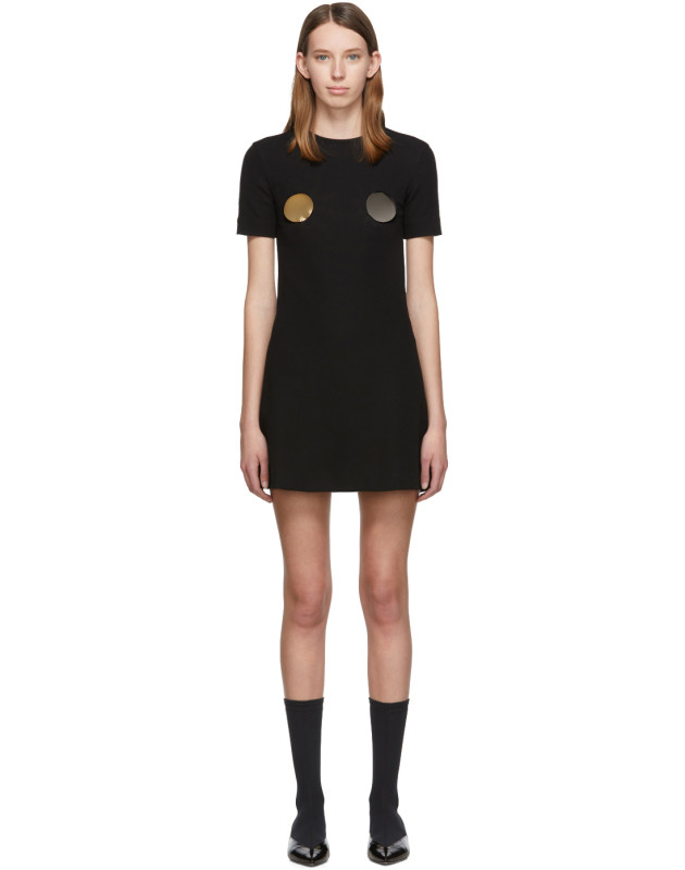 photo Black Pin Dress by Rudi Gernreich - Image 1