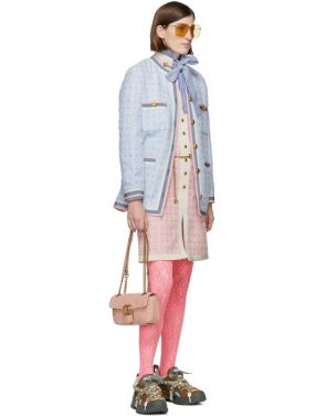 photo Pink Tweed Dress by Gucci - Image 5