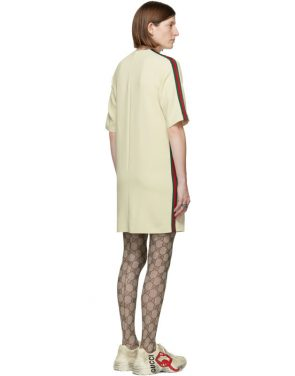 photo Off-White Cady Short Dress by Gucci - Image 3