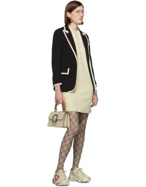 photo Off-White Cady Short Dress by Gucci - Image 5