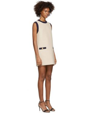 photo Off-White Tweed Dress by Gucci - Image 2