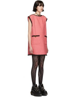 photo Pink Tweed GG Dress by Gucci - Image 2