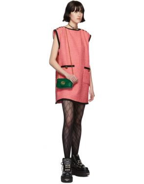 photo Pink Tweed GG Dress by Gucci - Image 5