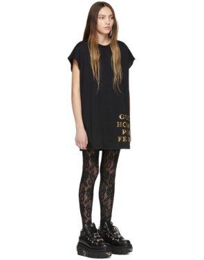 photo Black Sequin Homme Pour Femme T-Shirt by Gucci - Image 2