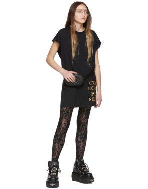 photo Black Sequin Homme Pour Femme T-Shirt by Gucci - Image 5