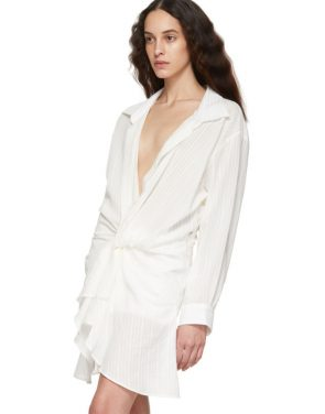 photo Off-White La Robe Alassio Dress by Jacquemus - Image 4