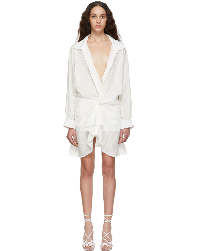 photo Off-White La Robe Alassio Dress by Jacquemus - Image 1