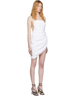 photo White La Robe Saudade Dress by Jacquemus - Image 2