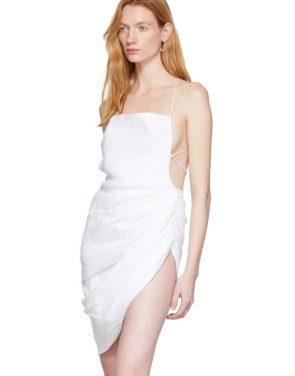 photo White La Robe Saudade Dress by Jacquemus - Image 4