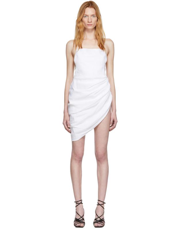 photo White La Robe Saudade Dress by Jacquemus - Image 1