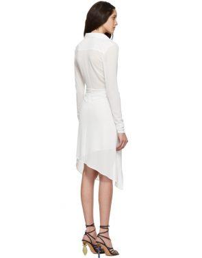 photo White La Robe Bellagio Dress by Jacquemus - Image 3