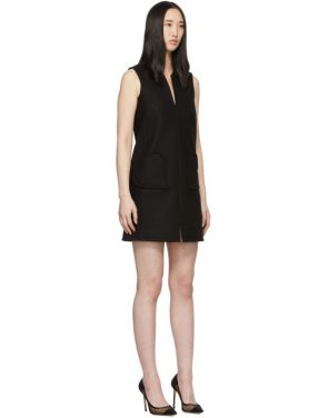 photo Black Sleeveless Shift Dress by RED Valentino - Image 2