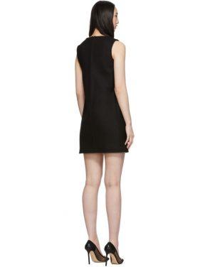 photo Black Sleeveless Shift Dress by RED Valentino - Image 3