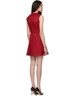 photo Red Scallop Ribbon Detail Dress by RED Valentino - Image 3
