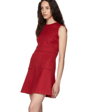 photo Red Scallop Ribbon Detail Dress by RED Valentino - Image 4