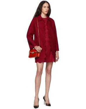 photo Red Scallop Ribbon Detail Dress by RED Valentino - Image 5