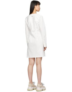 photo White Dominic Shirt Dress by Tibi - Image 3
