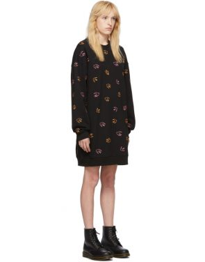 photo Black Embroidered Swallow Dress by McQ Alexander McQueen - Image 2