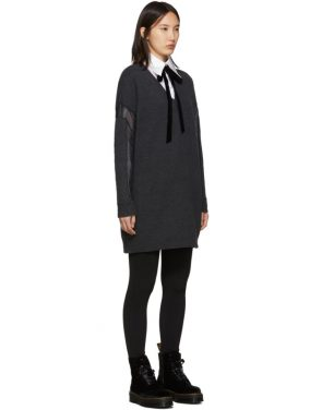 photo Grey Tunic Dress by McQ Alexander McQueen - Image 2