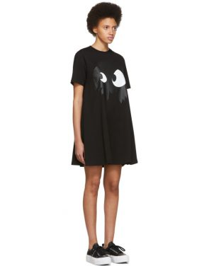 photo Black Mad Chester Babydoll Dress by McQ Alexander McQueen - Image 2
