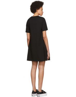 photo Black Mad Chester Babydoll Dress by McQ Alexander McQueen - Image 3