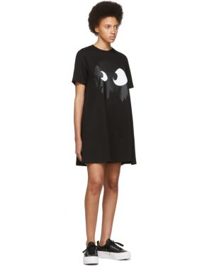 photo Black Mad Chester Babydoll Dress by McQ Alexander McQueen - Image 5