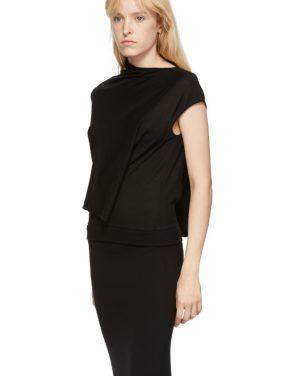 photo Black Askance Dress by McQ Alexander McQueen - Image 4